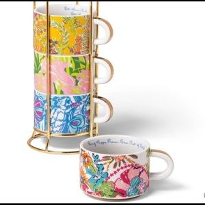 Lily Pulitzer for Target 4 espresso mugs